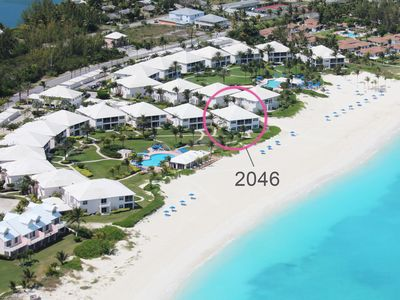 Photo for FRONTLINE Condo with SENSATIONAL bidirectional views of Treasure Cay Beach!