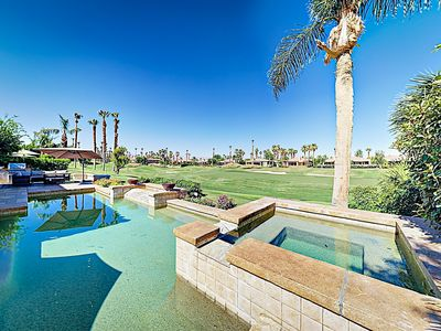 Photo for New Listing! Luxury Golf-Front Property w/ Outdoor Oasis, Pool, & Casita