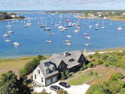 Photo for Extraordinary Chatham Waterfront Home.  Private Beach, Sleeps 10; 334-C