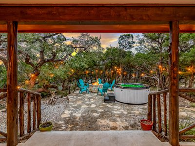 Photo for ★ATX Paradise | Heated Pool| Jacuzzi l Firepit l Sleep 14 | ★