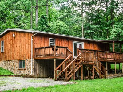 Photo for Three Bedroom Cabin Close to the New River Gorge at a good price