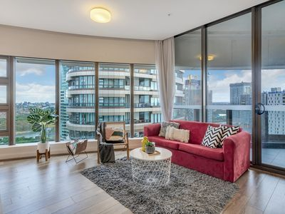 Photo for Olympic Park Luxury 2BR Apt CBD View High Level