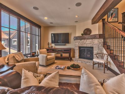 Photo for Park City Mountain's BEST location! Ski-in/Ski-out + hot tub & resort amenities