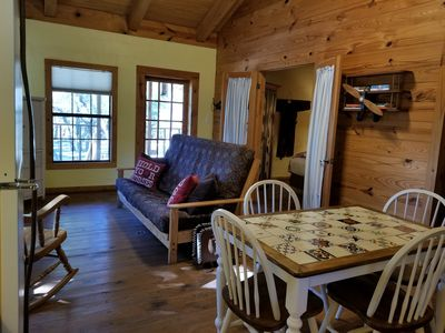 Photo for Mountain View Cabin Near Lost Maples & Garner Parks, Utopia and the Frio River