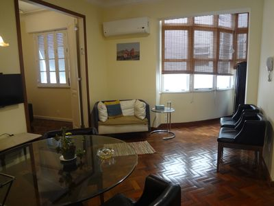 Photo for 2 rooms in Ipanema, large renovated apartment for rent of temp.