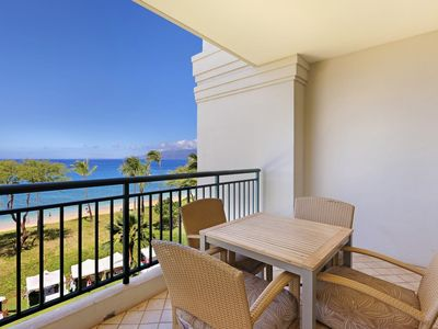 Photo for Maui Resort Rentals: Westin Kaanapali Ocean Resort 1BR Deluxe Oceanfront Villa