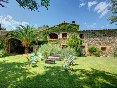 Photo for 4 bedroom Villa, sleeps 8 in Millás with Pool and WiFi