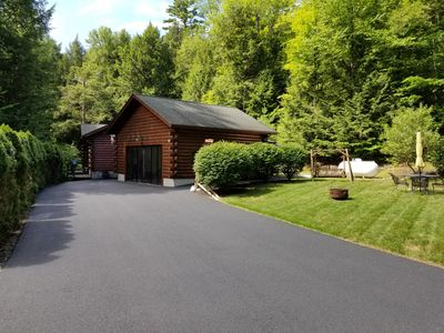 Photo for Cozy Log Home in Bolton Landing, NY - Lake George