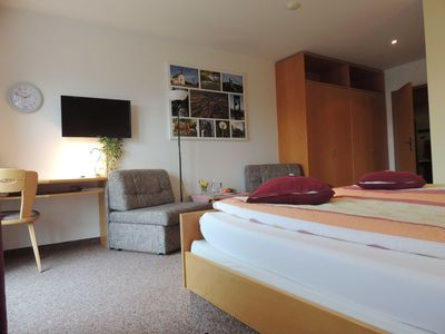 Photo for Double room Rother Kuppe - Guesthouse Jutta / Pension Link