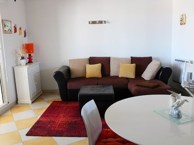 Photo for Very spacious apartment in the heart of the Mail de Rochelongue - Cap d'Agde