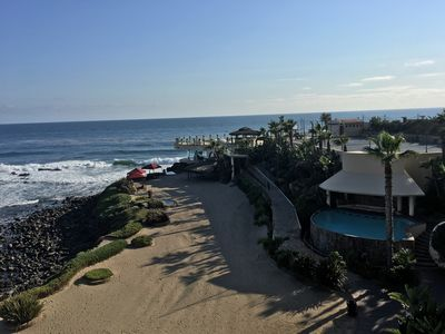 Photo for Entire home at Las Olas Grand/Rosarito Getaway/Front beach view