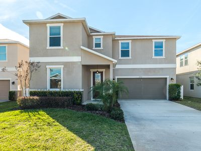 Photo for Brand New Villa - luxurious decor and prime location only 7 miles to Disney!