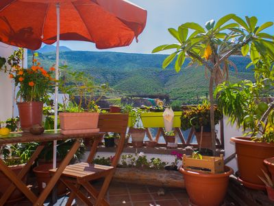 """Photo for """"The box"""" holiday home with terrace in the old town of Agaete"""