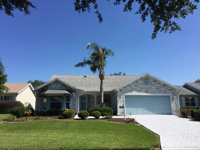 Photo for Beautiful 3 Bdrm 2 Ba Designer Home w/WiFi & Golf Cart included!