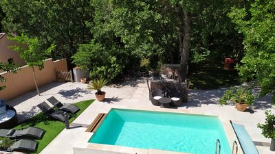 Photo for Magnificent Villa with swimming pool - Provence in peace -30min beaches