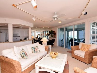 Photo for LANDS END 1613 ON CAPTIVA-AMAZING GULF TO BAY VIEWS  PLUS $100+ beach resort discounts