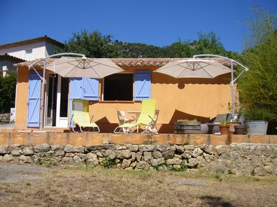 Photo for Between sea and mountains, charming little house with air conditioning and private garden