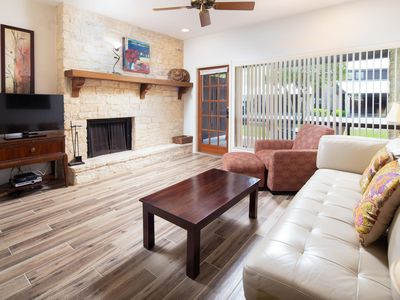 Photo for Brand New Listing! Beautiful 2/2.5 condo on the Comal River!