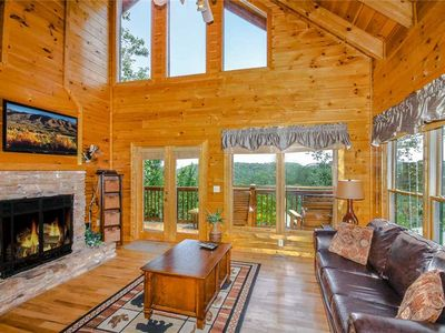 Photo for Elegant Escape | Spacious | Amazing Mountain Views | Pool Table | Hot Tub |   Pigeon Forge