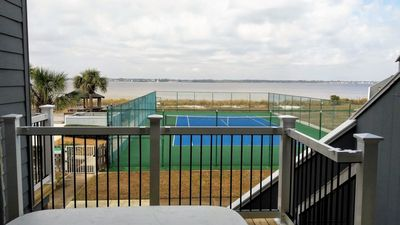 Photo for Family Friendly Townhome with Beach Access! - Steps to the Gulf of Mexico but right on the Pensacola Bay