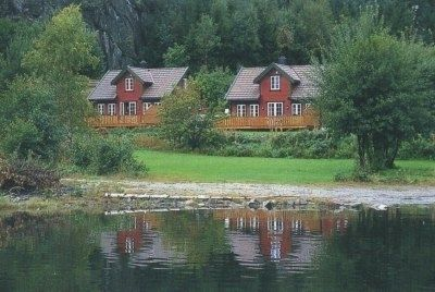 Photo for Holiday house for 8 persons with panoramic view of the Trysfjord