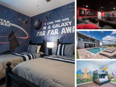 Photo for 11 Br Encore Pool Home With Themed Bedrooms - EC103