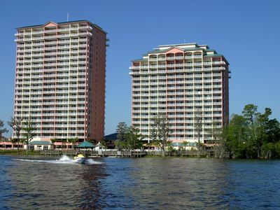 Photo for Luxury Condo with Two Patios on Beautiful Lake near Disney, Seaworld, Universal
