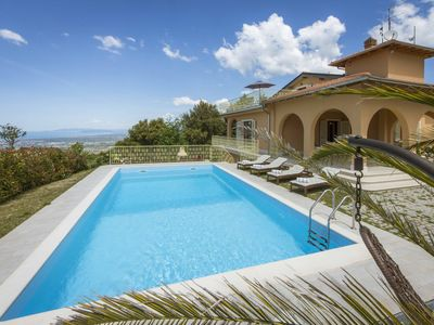 Photo for Beautiful newly built luxury villa with panoramic views