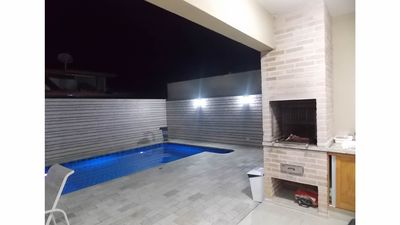 Photo for House with pool in gated community in the beach Juquehy