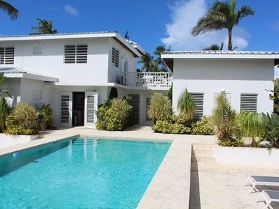 Photo for Sea Patch - Tropical Gardens, Pool, Steps to the Beach