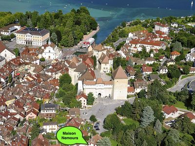 Photo for DETACHED APARTMENT IN ANNECY'S HISTORICAL CENTER WITH PRIVATE GARDEN
