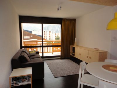Photo for LE66: Fully refurbished apartment, with view of the mountains and next to slopes