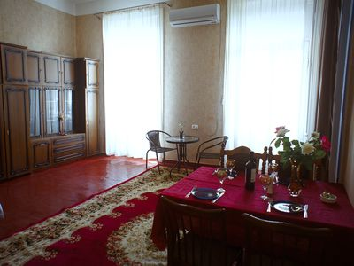 Photo for Cozy 2-bedroom apartment with a balcony in Downtown of the old Tbilisi
