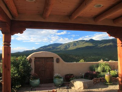 Photo for Taos Retreat  near Ski Valley & Arroyo Seco- perfect for families, couples, solo