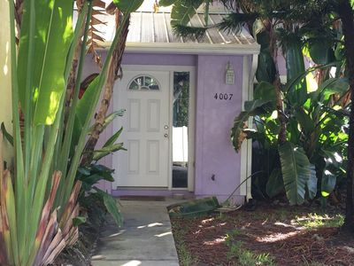 Photo for Tropical Townhome just steps from the beach