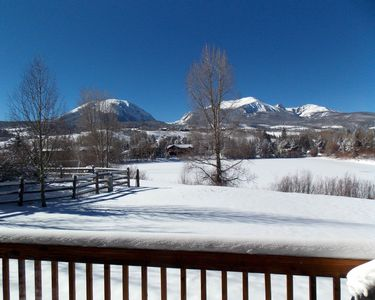 Winter View from the Deck