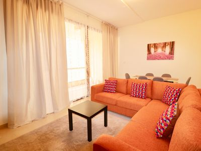 Photo for 2-Bedroom, up to 7 guests, at the center of JBR, just 3 min to beach