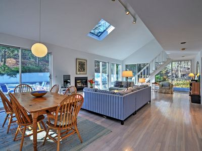 Photo for Contemporary Hampton Home w/Heated Pool + Fire Pit
