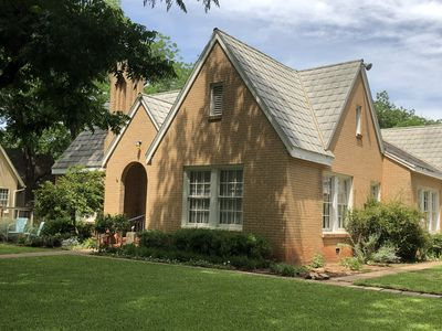 Photo for Quaint Tudor in desirable Elmwood area.  Tree lined streets/centrally located.