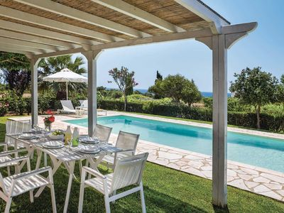 Photo for 3 bedroom Villa, sleeps 6 in Agia Pelagia with Pool, Air Con and WiFi