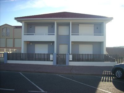 Photo for Appart. 48m2 large garden terrace located 60m from the beach and 300m from the village