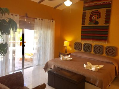 Photo for Deluxe Balcony Jacuzzi Suite E8 Dolce Vita Caribe B&b