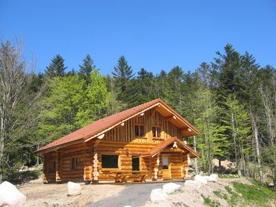Photo for Superb chalet 150 m² in the heart of the Vosges, fully equipped, wifi, group, family