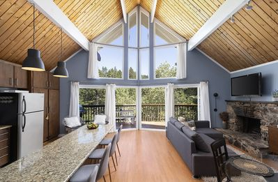 Photo for Treetop Modern Mountain Loft Above It All