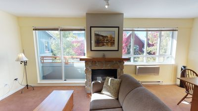 Enjoy Whistler Village Stroll Views from this Cozy & Centrally Located Studio