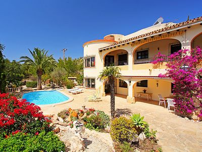Photo for Vacation home Benimeit  in Moraira, Costa Blanca - 8 persons, 4 bedrooms