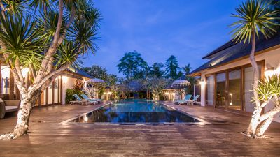 Photo for Fabulous villa at 3min walk from the beach of Canggu Brawa