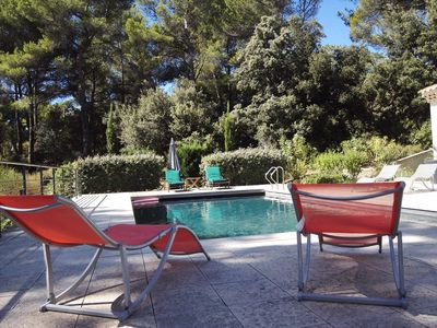 Photo for Apartment 70 m² 2 bedrooms, pool Aix en Provence equipped kitchen, climate