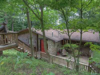 Photo for A Holimont Dream! Great for families Ping Pong, Outdoor fire pit & Free WiFi!!!!