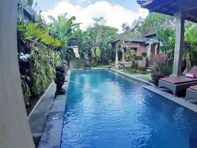 """Photo for 2 BR private pool villa """" suitable for you to learn about the bali in fact"""""""